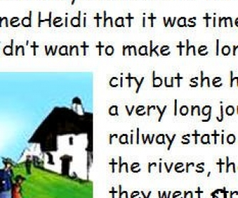 Heidi: Part One
