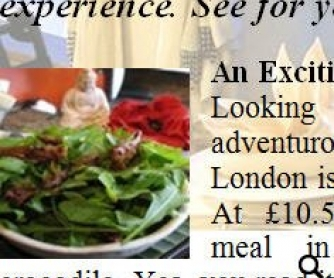 Adventurous Dining