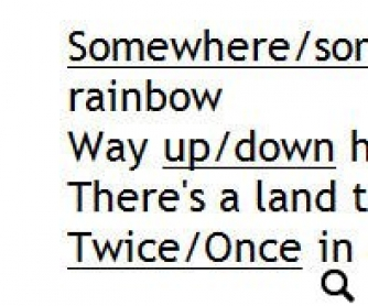 Song Worksheet: Over the Rainbow by Connie Talbot (WITH VIDEO) v3