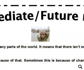 Immediate and Future Needs