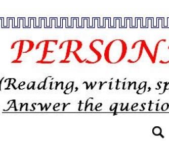 Personal information worksheet ibookread ePUb