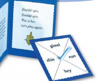 The Dreidel Game: Chanukah Game and Mini-Book Project