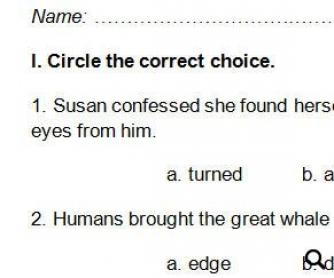 Advanced Vocabulary Worksheet