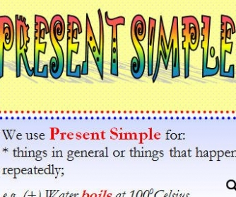 Present Simple & Continuous: Part 1/2