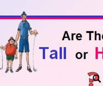 Tall or High: PowerPoint Presentation