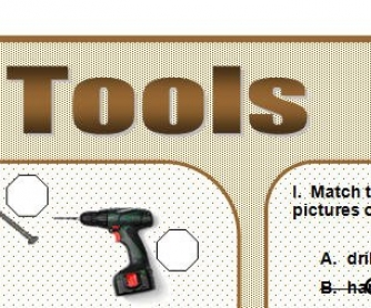 Common Tools Worksheet