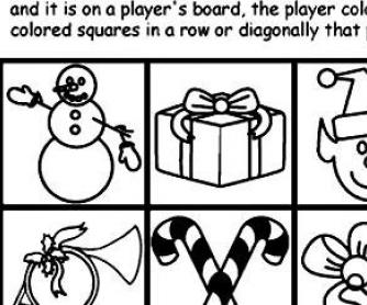 5 Christmas Bingo Worksheets and More!