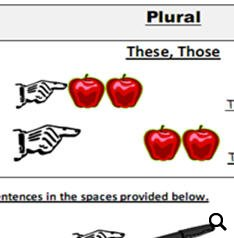 Demonstratives and Plurals