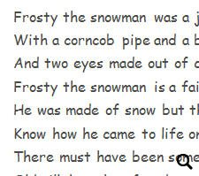 graphic regarding Frosty the Snowman Lyrics Printable called Track Worksheet \