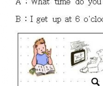 Daily Activities Worksheet: What Time Do Yo...?