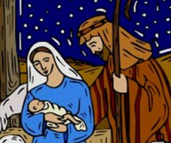 The Birth of Jesus: Christmas Nativity Worksheet