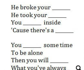 Song Worksheet: I'll Be Waiting by Lenny Kravitz (WITH VIDEO)