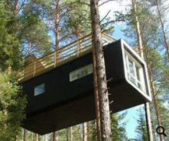 Rooms at the Top: Sweden's Stylish New Treehouse