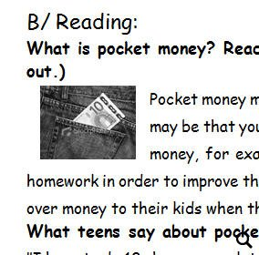 should children be given pocket money It is common for parents to give children pocket money, but should we give them pocket money for free i am thinking: give them an average amount of pocket money, comparing to their friends /.