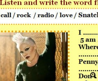 Song Worksheet: Raise Your Glass by Pink [WITH VIDEO]