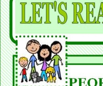 Let's Read and Write About: Family and Friends