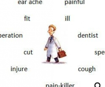 Health Vocabulary Worksheet