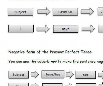 The Present Perfect Tense: Rules and Practice Exercises