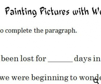 Adjectives: Painting Pictures with Words