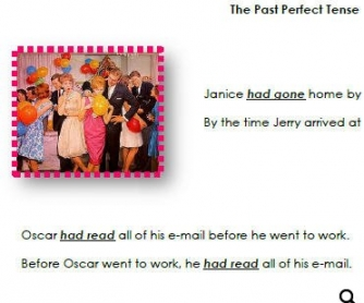 The Past Perfect Tense: 14-Page Booklet