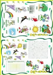 Seasons Worksheet - Spring