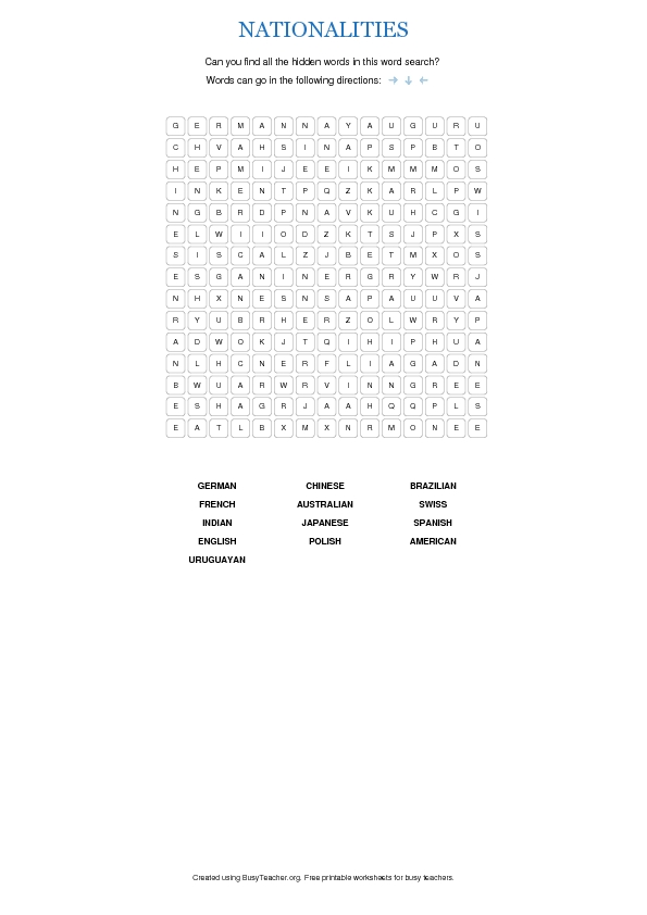 It is a graphic of Printable Spanish Word Searches intended for spanish number 1 20