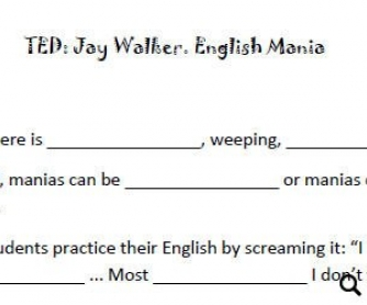 TED: Jay Walker. English Mania [WITH VIDEO]