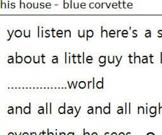 Song Worksheet: I'm Blue by Eiffel 65
