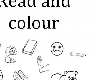 Read and Colour
