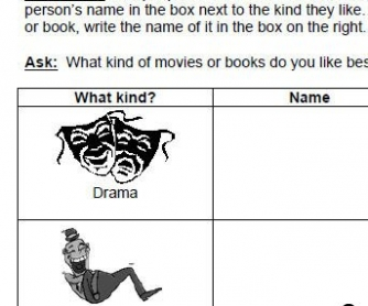 Books or Movies? Speaking Activity