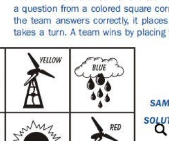 Energy Source Puzzles
