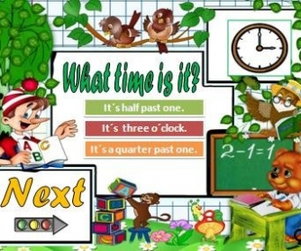 What Time Is It? PowerPoint Game