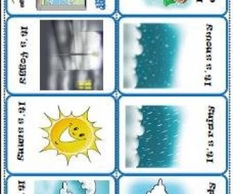 The Weather Mini-Book
