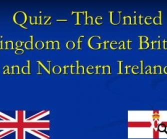 UK Quiz [PowerPoint Presentation]