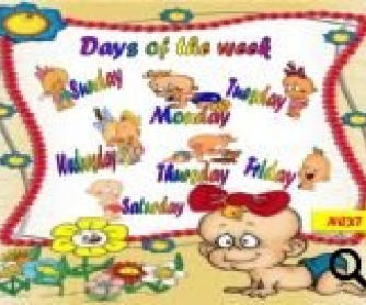 Days of the Week PowerPoint Game