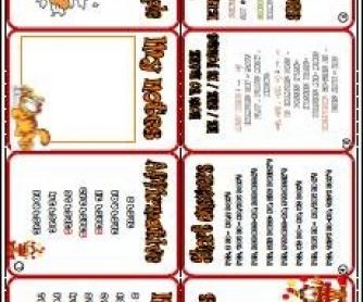 Present Simple Tense Mini Grammar Book