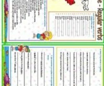 Past Simple: Regular Verbs Worksheet