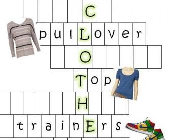 Clothes Split Crossword