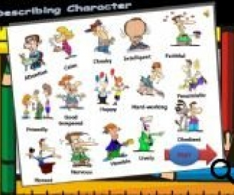 Describing Character Worksheet