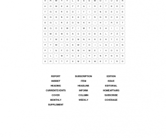 Mass-Media Word Search