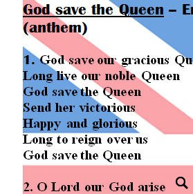 british and the usa anthem lyrics with slovak translation. Black Bedroom Furniture Sets. Home Design Ideas