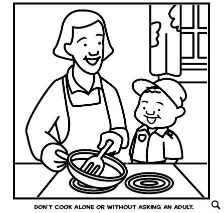 Fire Safety Coloring Pages That May Save Lives