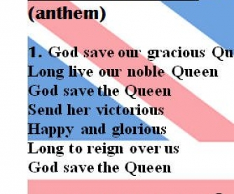 British and the USA Anthem Lyrics [WITH SLOVAK TRANSLATION]