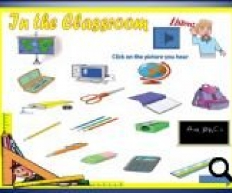 Classroom Supplies PowerPoint Game