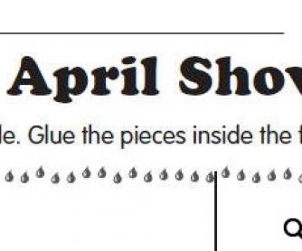 April Showers Puzzle
