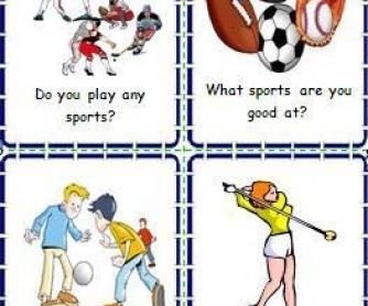 do you like to play sports