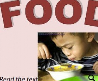 Food Lesson Plan