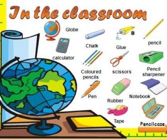 School Supplies PowerPoint Presentation