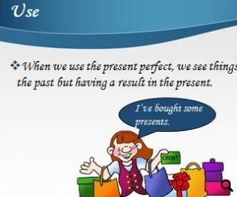 The Present Perfect Tense Presentation [POWERPOINT]