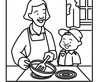 childrens fire safety coloring pages - photo#26